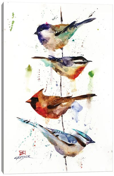 The Perch Canvas Art Print