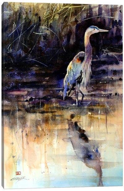 Heron Canvas Print #DCR20