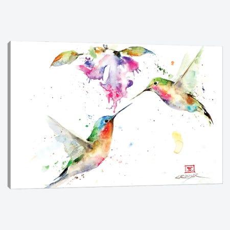 The Sweethearts Canvas Print #DCR216} by Dean Crouser Canvas Print