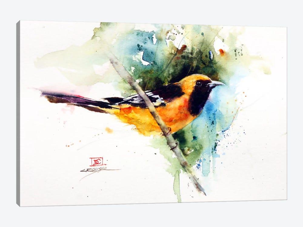 Orange Bird by Dean Crouser 1-piece Canvas Wall Art