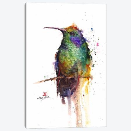 Green Bird Canvas Print #DCR22} by Dean Crouser Canvas Print