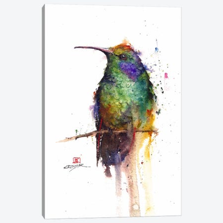 Green Bird Canvas Print #DCR22} by Dean Crouser Canvas Print