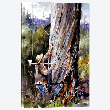 Man VS Nature Canvas Print #DCR23} by Dean Crouser Canvas Print