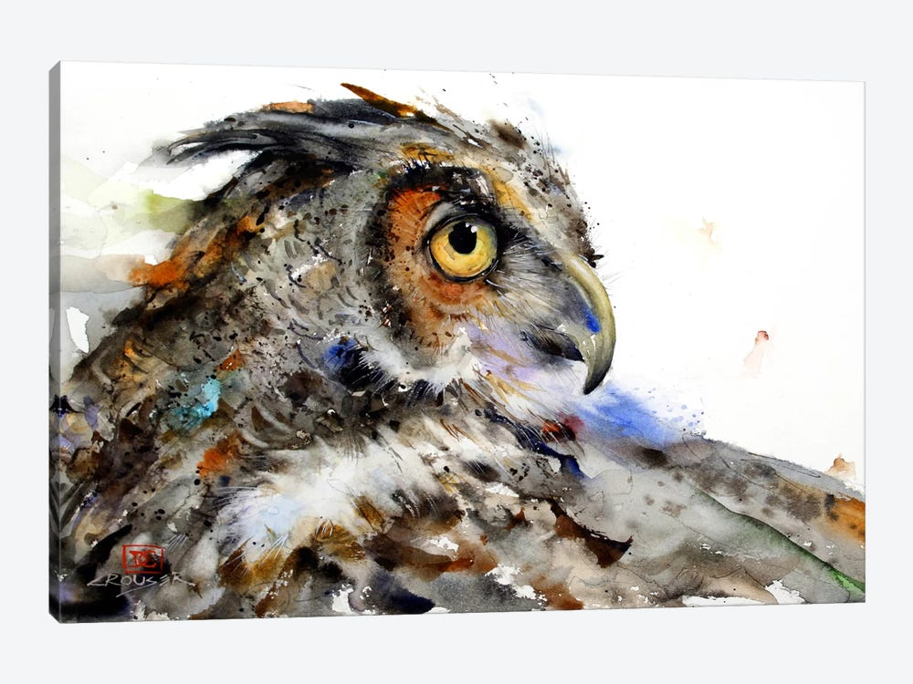 Owl II by Dean Crouser 1-piece Canvas Artwork