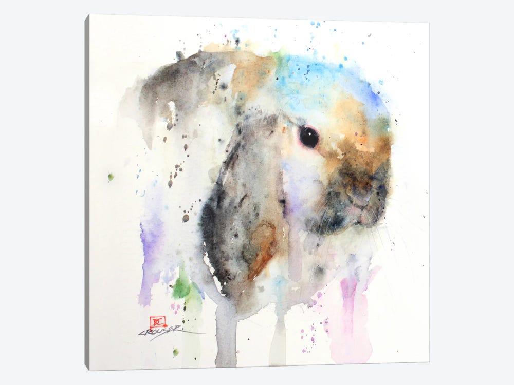 Rabbit by Dean Crouser 1-piece Canvas Art Print