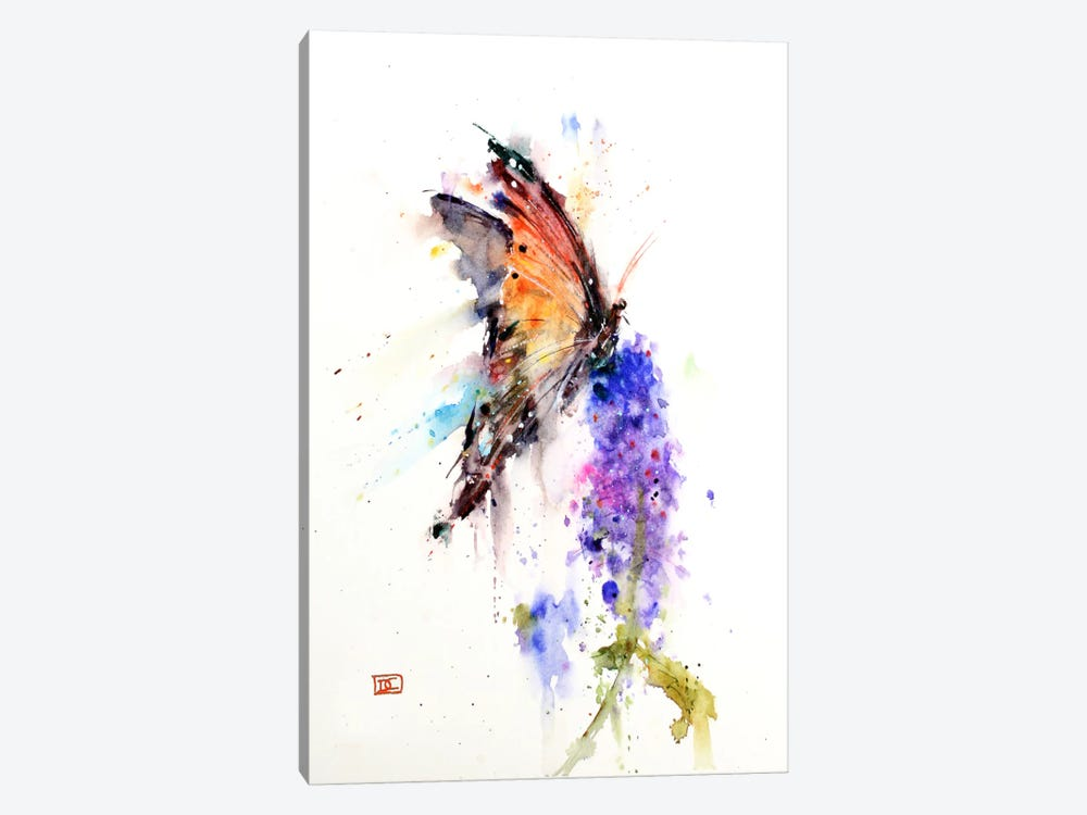 Butterfly II by Dean Crouser 1-piece Canvas Art Print