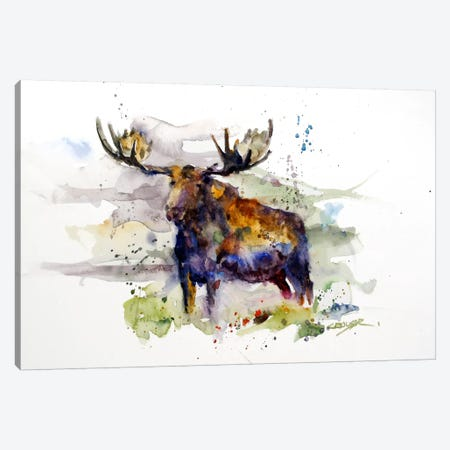 Elk Canvas Print #DCR29} by Dean Crouser Canvas Art Print