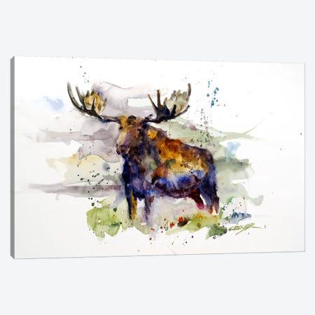 Elk Canvas Print #DCR29} by Dean Crouser Canvas Art Print