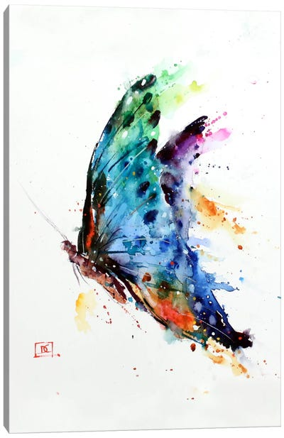 Butterfly Canvas Art Print
