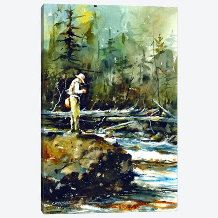 Fishing in the Wild II Canvas Print #DCR30} by Dean Crouser Canvas Wall Art