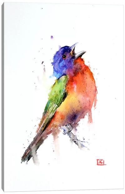 Bird (Multi-Colored) Canvas Print #DCR33