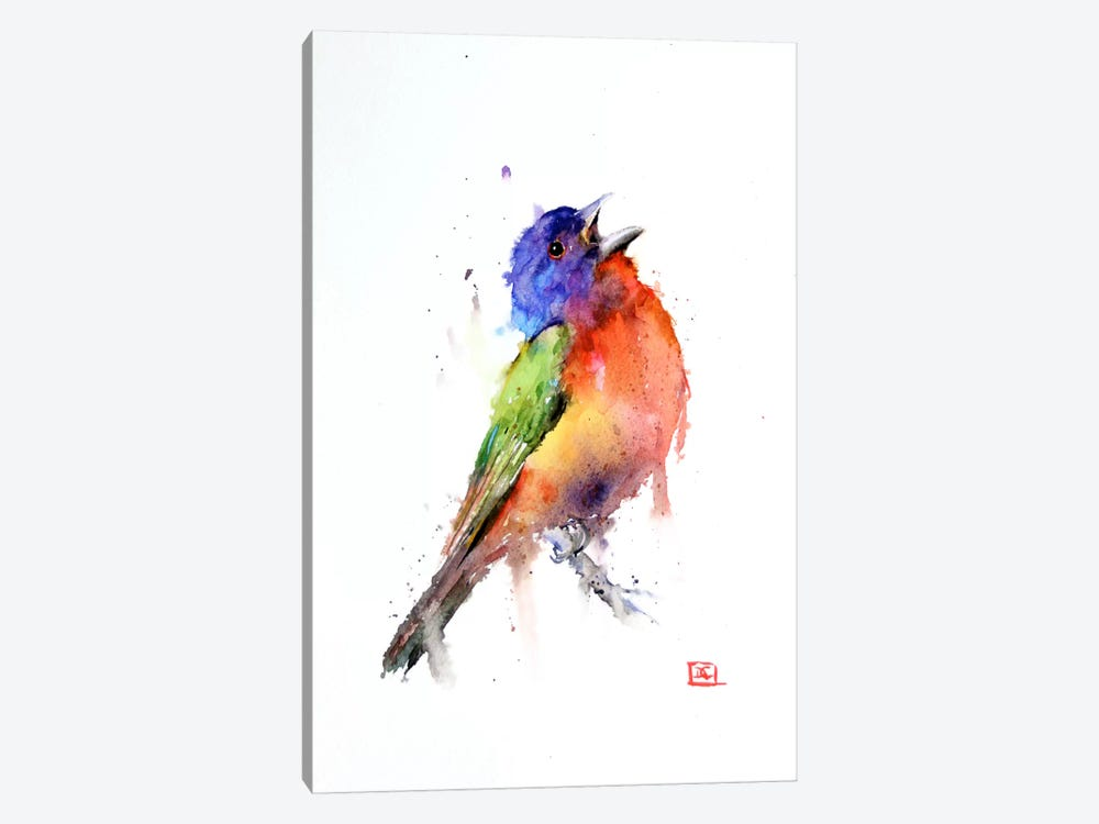 Bird (Multi-Colored) by Dean Crouser 1-piece Canvas Art Print