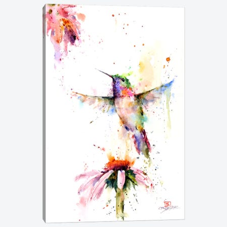 Between the Flowers Canvas Print #DCR36} by Dean Crouser Art Print