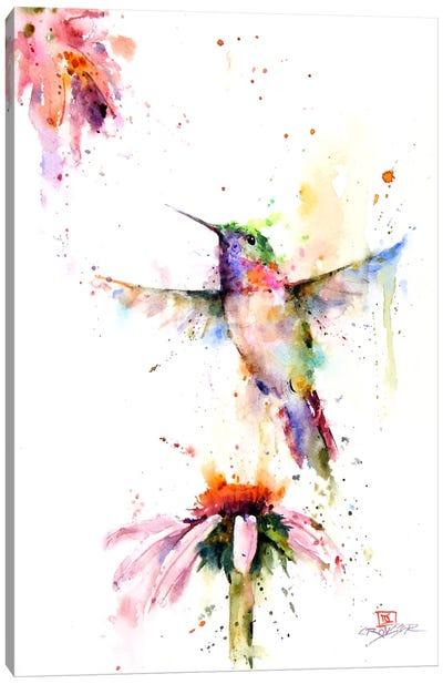 Between the Flowers Canvas Art Print