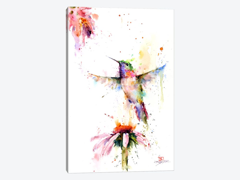Between the Flowers by Dean Crouser 1-piece Canvas Artwork
