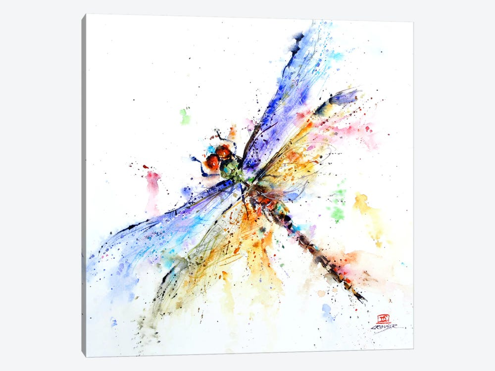 Dragonfly by Dean Crouser 1-piece Canvas Print