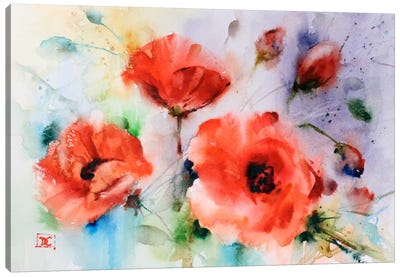 Poppies Canvas Art Print