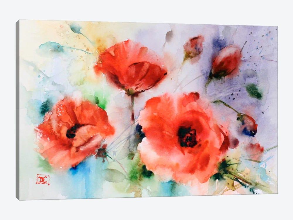 Poppies by Dean Crouser 1-piece Canvas Art Print