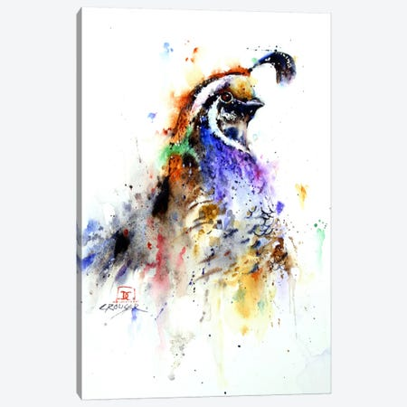 Noblebird Canvas Print #DCR41} by Dean Crouser Canvas Art Print