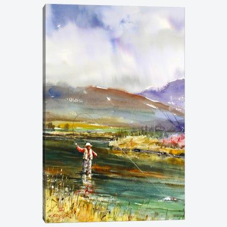 Fishing II Canvas Print #DCR42} by Dean Crouser Canvas Print