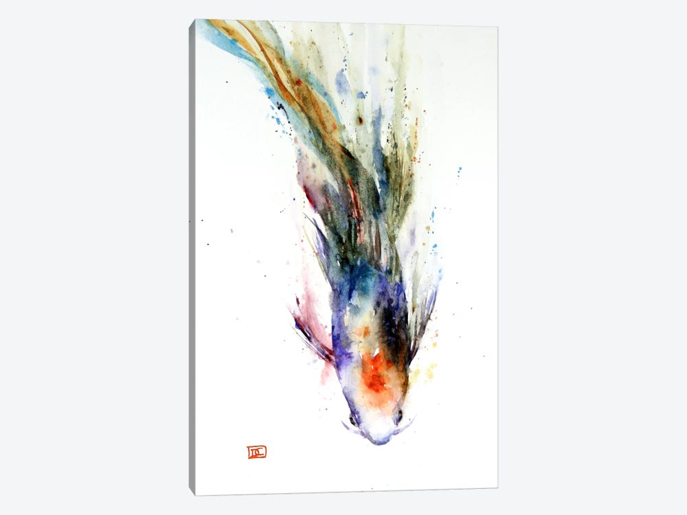 Fish in Motion by Dean Crouser 1-piece Canvas Art