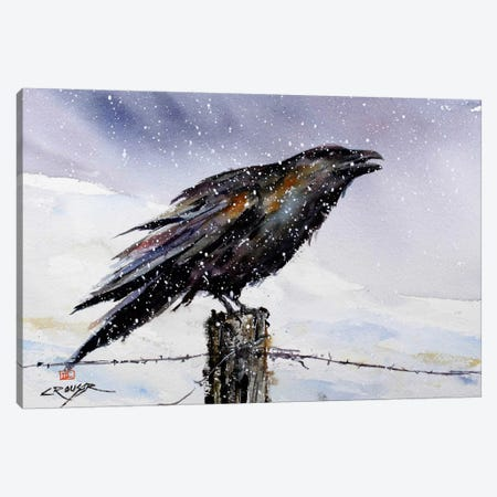 Winter Herald Canvas Print #DCR47} by Dean Crouser Canvas Art