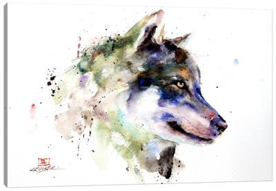 Wolf Canvas Art Print