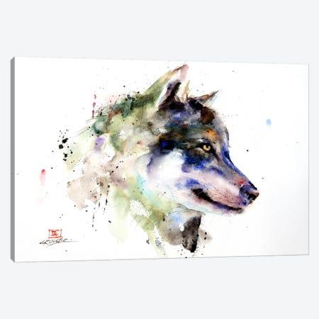 Wolf Canvas Print #DCR48} by Dean Crouser Canvas Print