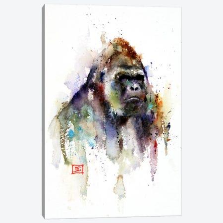 Gorilla Canvas Print #DCR49} by Dean Crouser Art Print