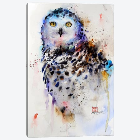 Owl Canvas Print #DCR50} by Dean Crouser Canvas Artwork