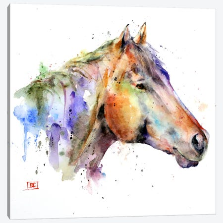 Horse Canvas Print #DCR54} by Dean Crouser Art Print