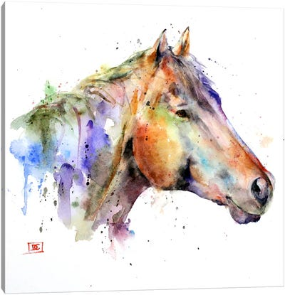Horse Canvas Art Print