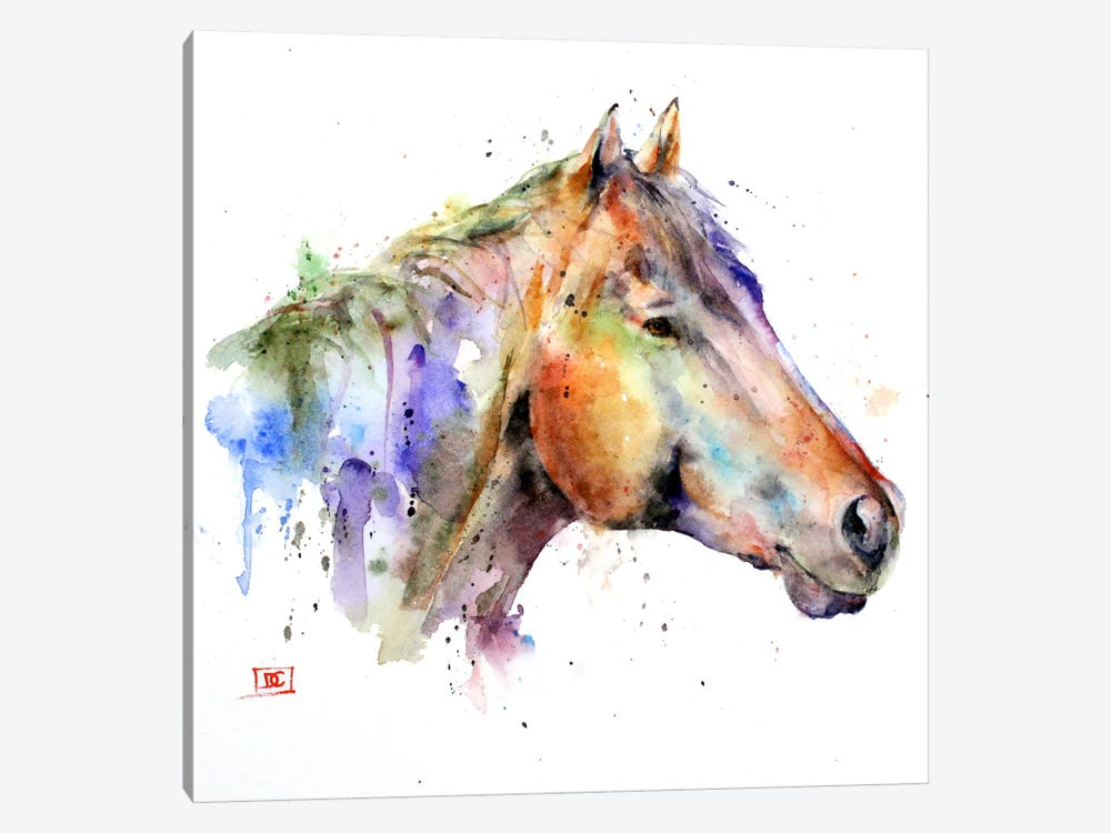Horse by Dean Crouser 1-piece Canvas Wall Art