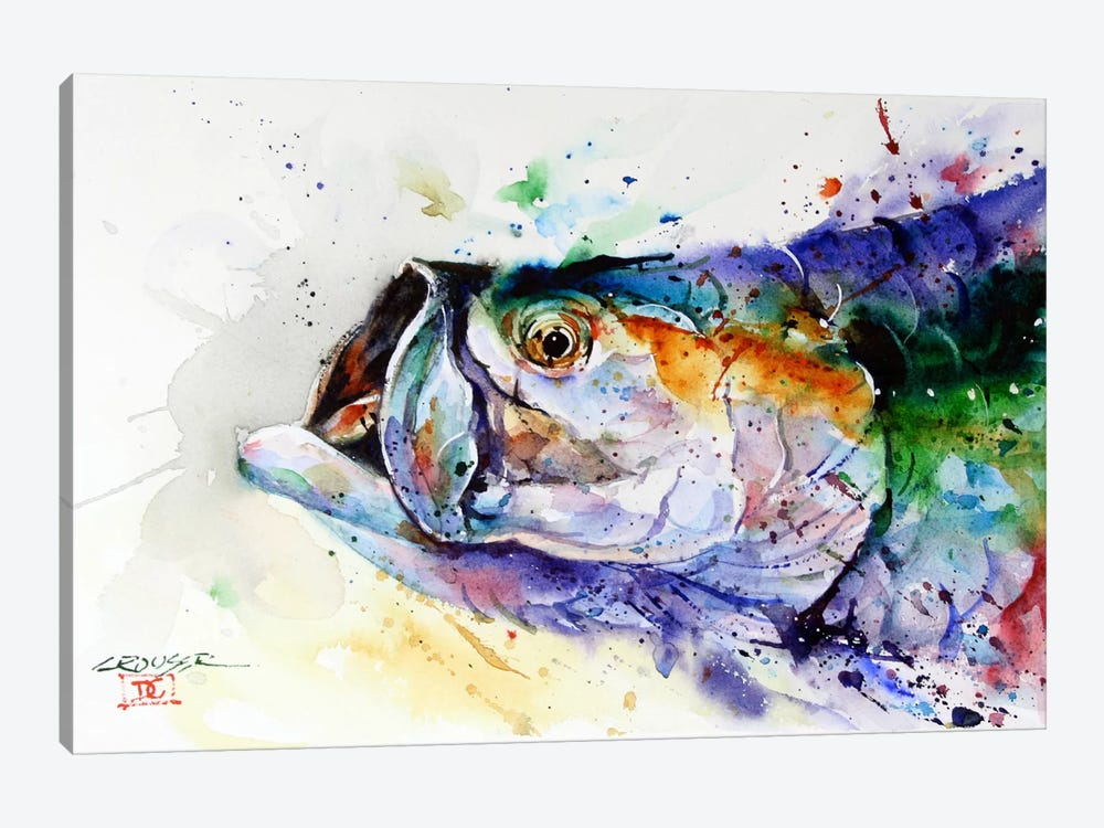 Fish by Dean Crouser 1-piece Canvas Art Print
