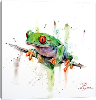 Frog Canvas Art Print
