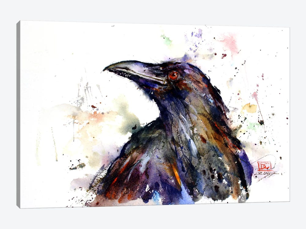 Crow by Dean Crouser 1-piece Art Print