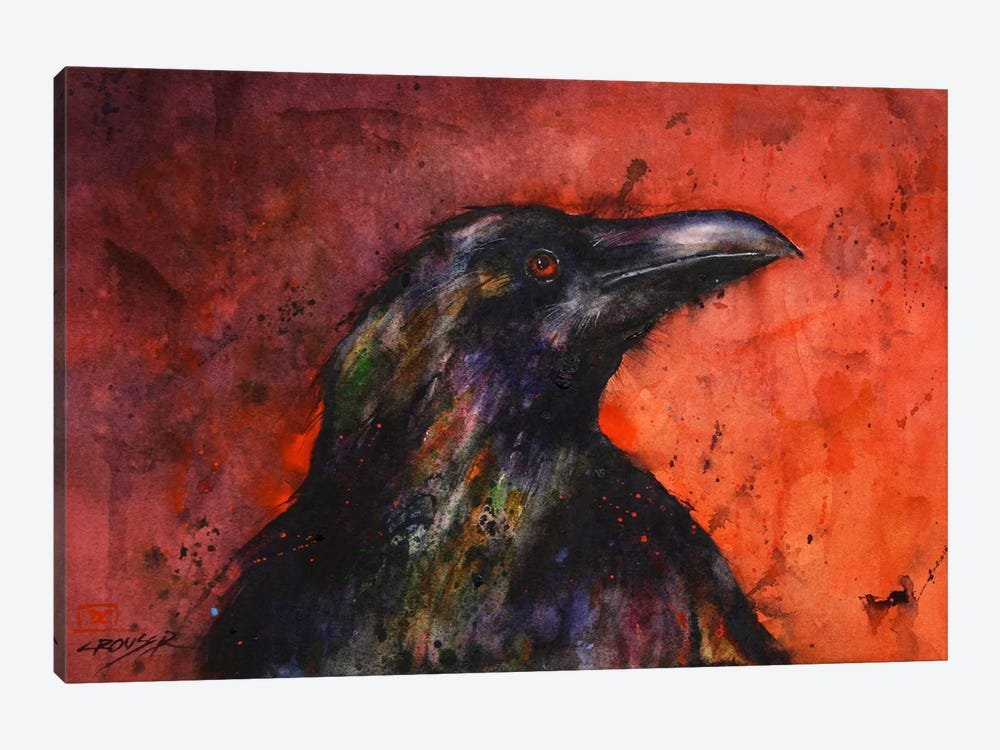 Crow II by Dean Crouser 1-piece Canvas Art