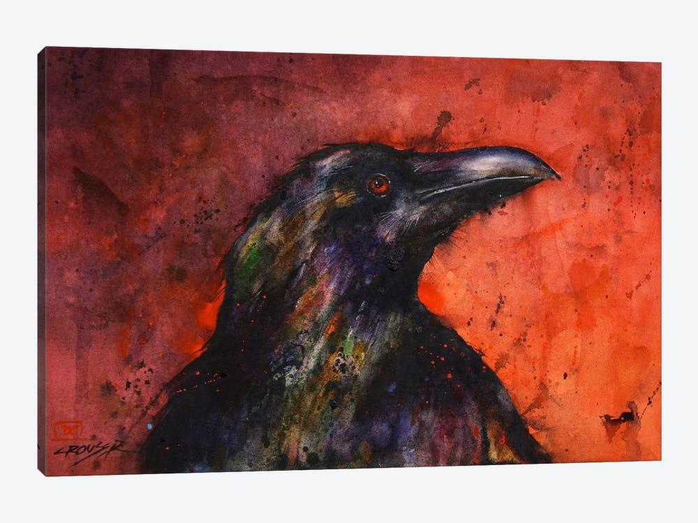 Crow II by Dean Crouser 1-piece Canvas Art
