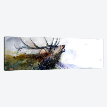 Elk II Canvas Print #DCR64} by Dean Crouser Canvas Artwork