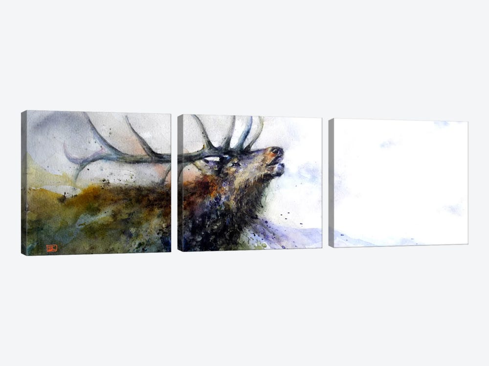 Elk II by Dean Crouser 3-piece Canvas Art Print