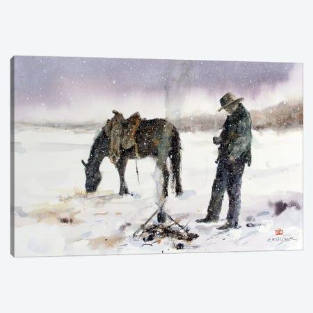 Halt Canvas Print #DCR65} by Dean Crouser Canvas Art