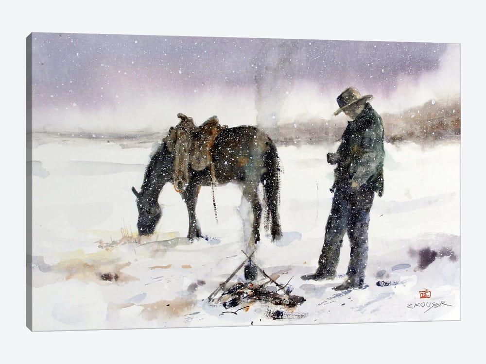 Halt by Dean Crouser 1-piece Canvas Wall Art