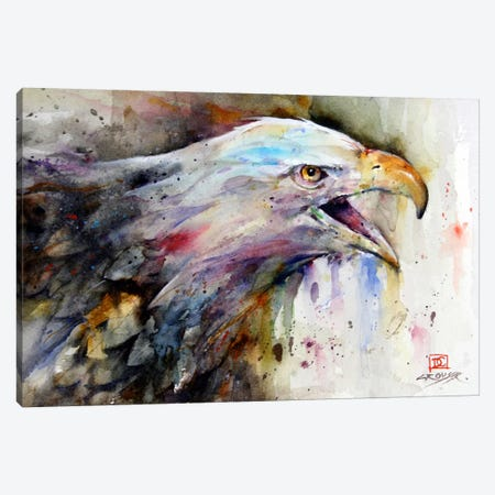 Eagle Canvas Print #DCR66} by Dean Crouser Canvas Artwork