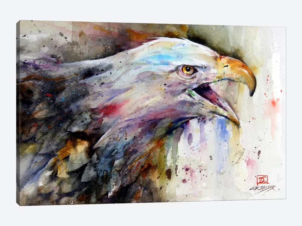 Eagle by Dean Crouser 1-piece Canvas Print