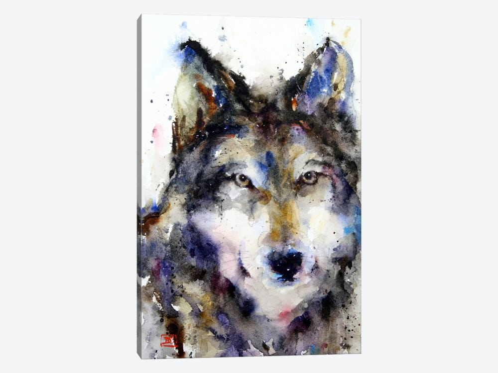 Wolf II 1-piece Canvas Art Print