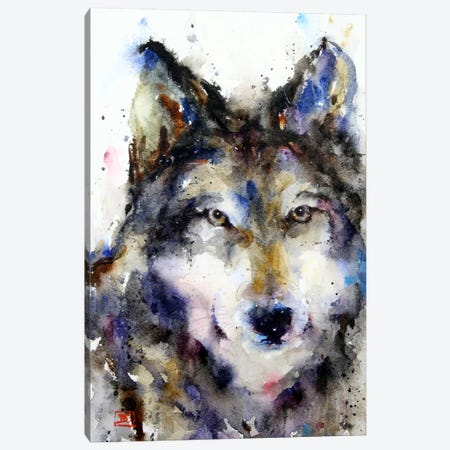 Wolf II Canvas Print #DCR68} by Dean Crouser Canvas Print