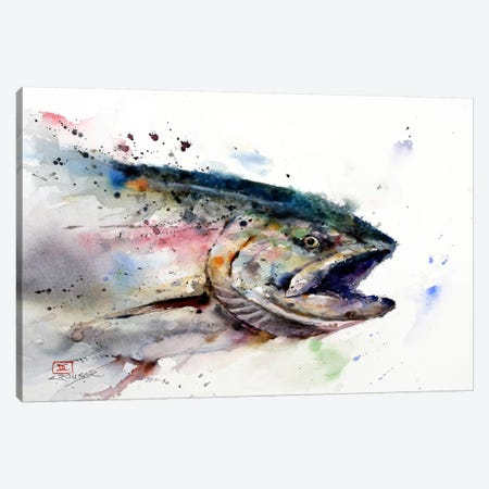 Fish II Canvas Print #DCR70} by Dean Crouser Canvas Art