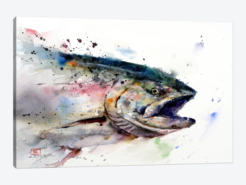 Fish II by Dean Crouser 1-piece Canvas Artwork