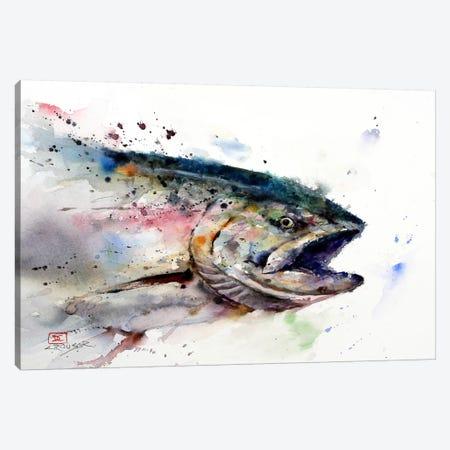 Fish II Canvas Print #DCR70} by Dean Crouser Canvas Art