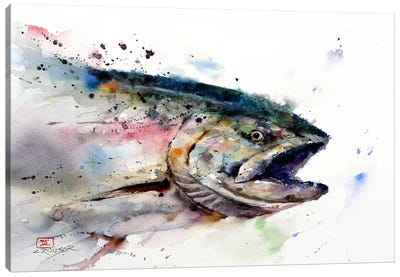 Fish II Canvas Art Print